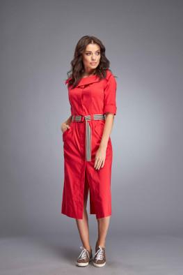 Сукня ПЛ МО-27 червона